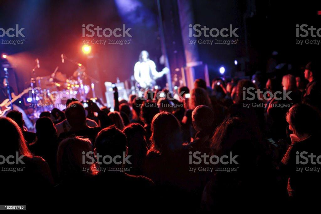 Concert performance stock photo