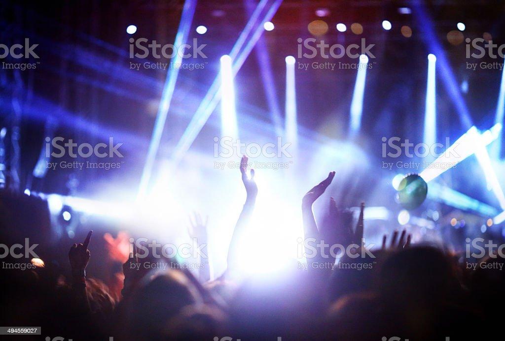 Concert. stock photo
