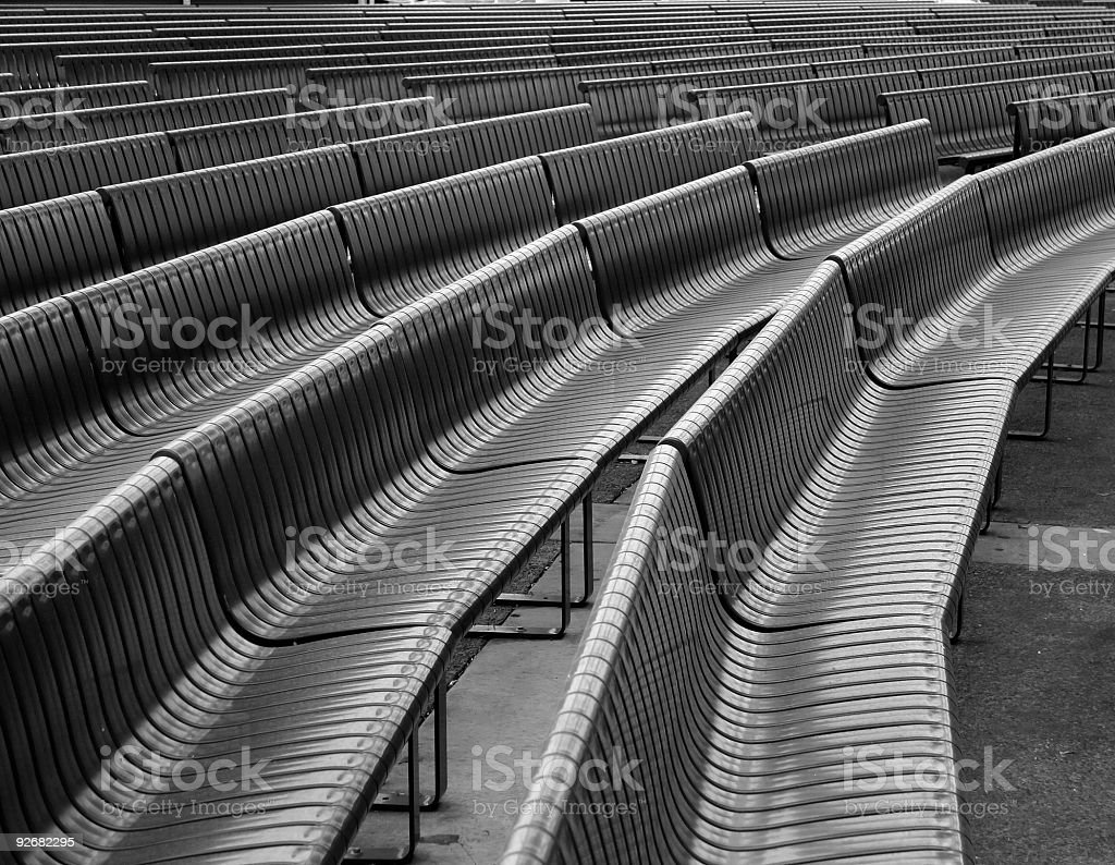 Concert Seating royalty-free stock photo