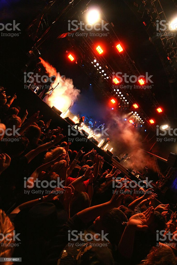 Concert show royalty-free stock photo