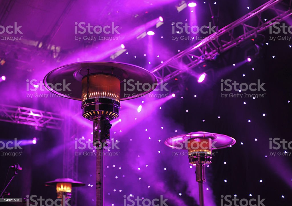 Concert stage royalty-free stock photo