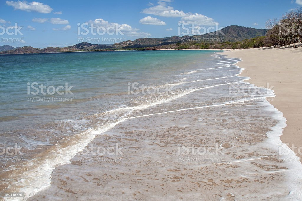 Playa Conchal stock photo