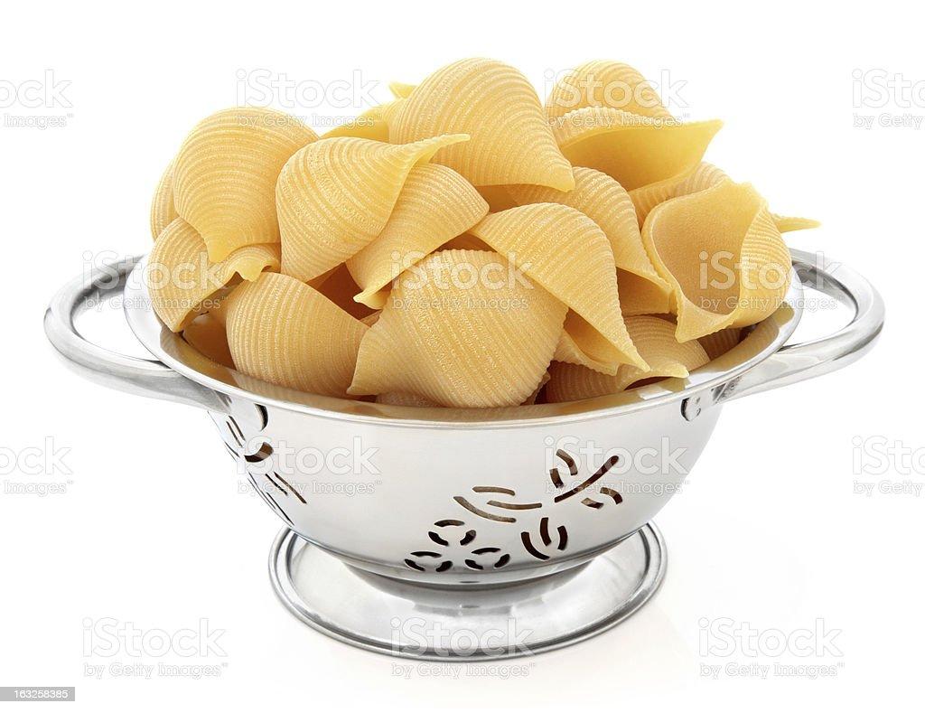 Conchiglioni Pasta royalty-free stock photo