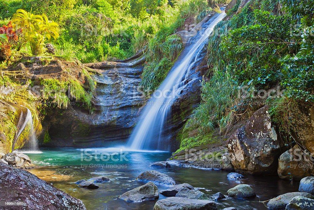 Concord Fall, Grenada W.I. royalty-free stock photo