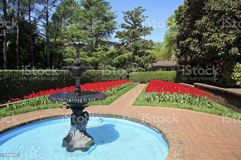 Concord Memorial Garden stock photo