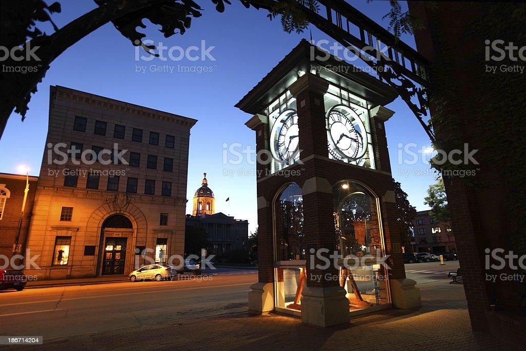 Concord, New Hampshire stock photo