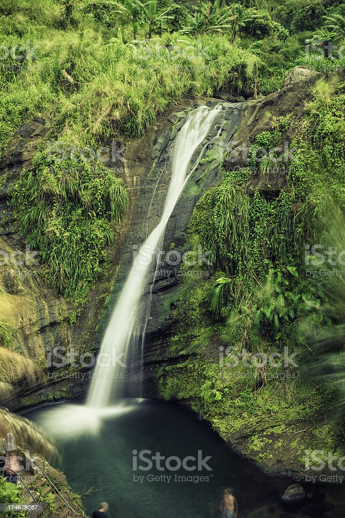 Concord Waterfall royalty-free stock photo