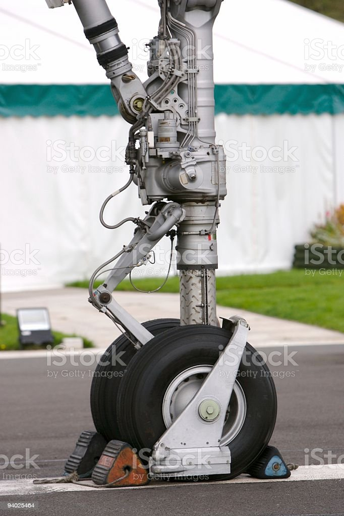Concorde Landing Gear royalty-free stock photo