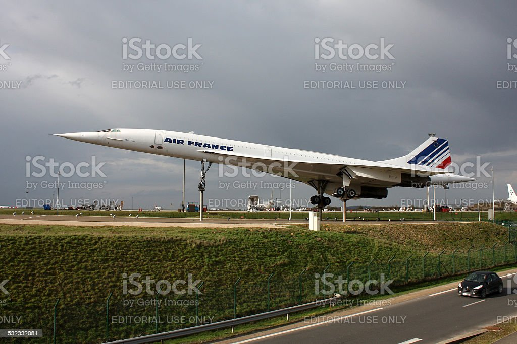 Concorde stock photo