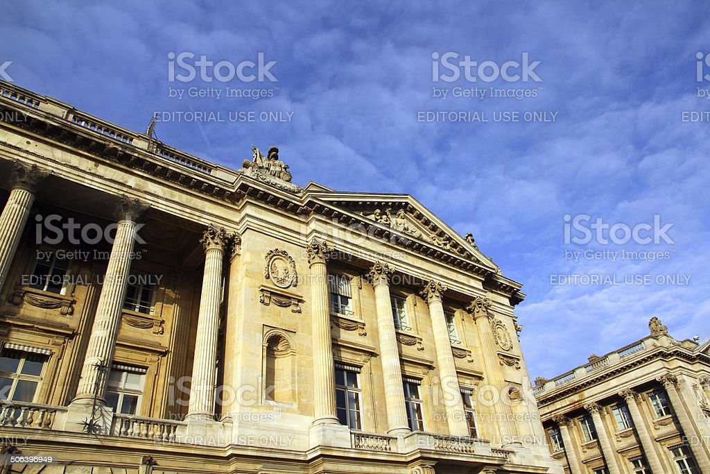 Concorde Place royalty-free stock photo