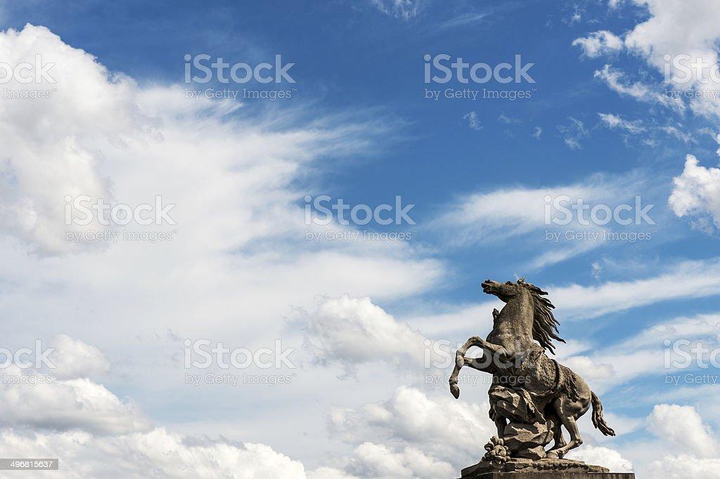 Concorde Square stock photo