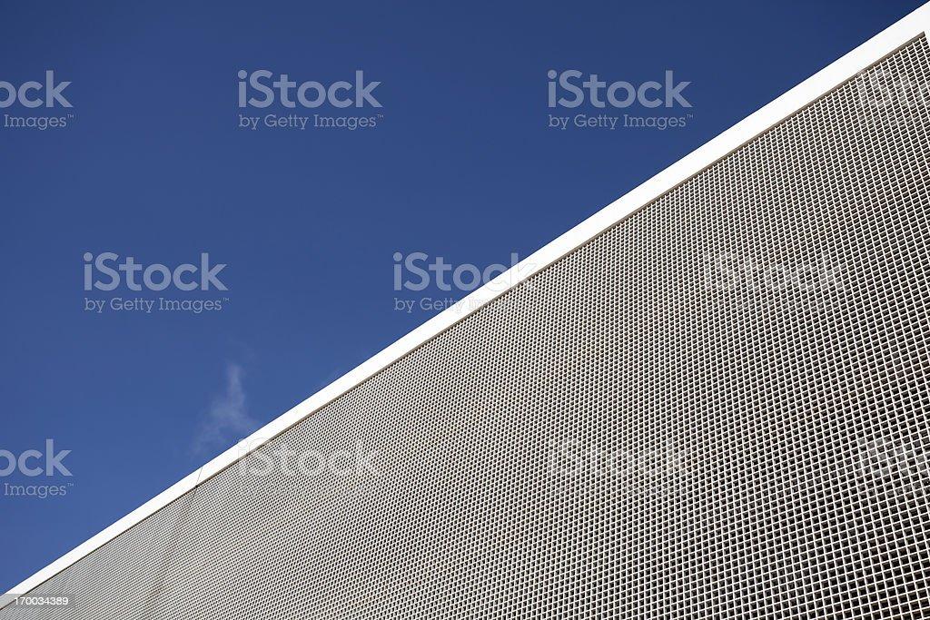 Concrete background facade royalty-free stock photo