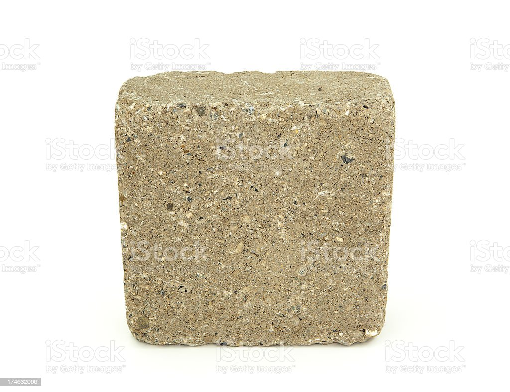 Concrete Block stock photo
