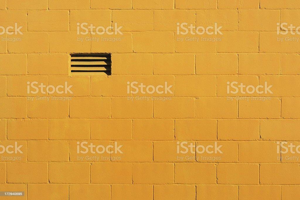 Concrete Block Wall Building Facade stock photo
