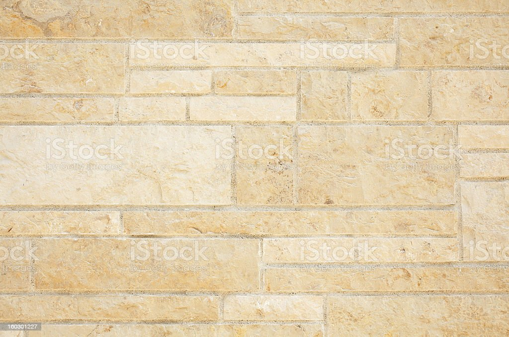 Concrete Block wall royalty-free stock photo