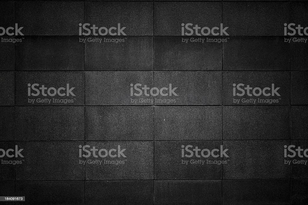 Concrete block wall royalty-free stock photo