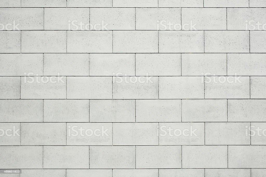 Concrete Block wall stock photo