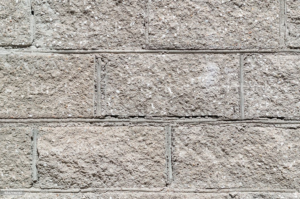 Concrete block wall texture background stock photo