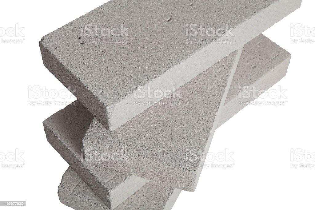 Concrete Blocks stock photo