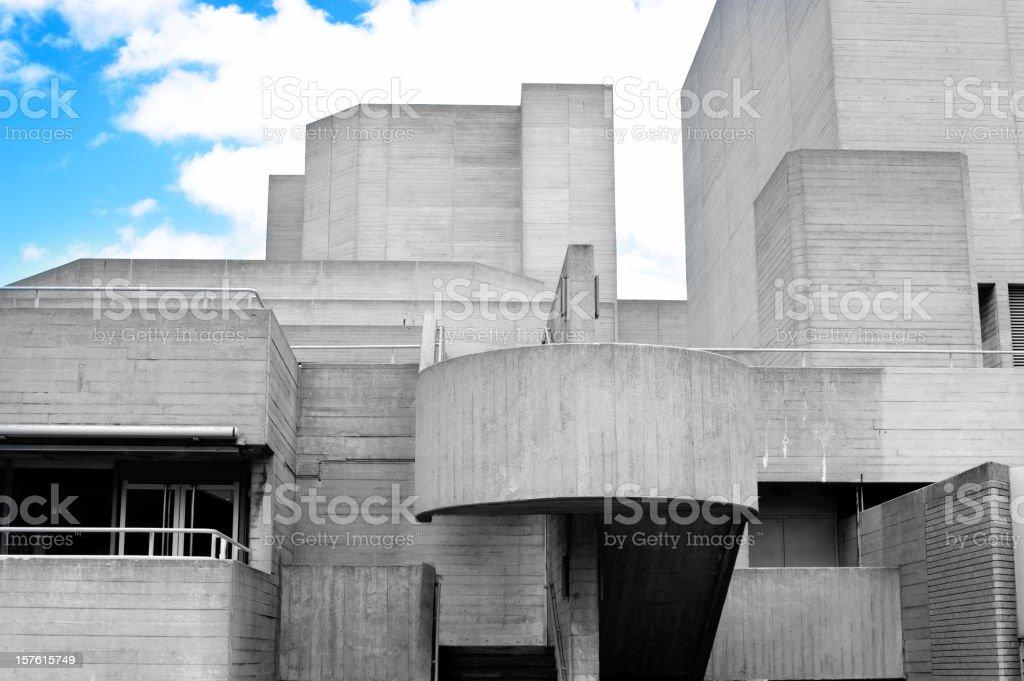 concrete building stock photo
