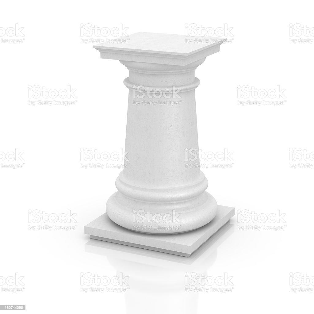 Concrete Column royalty-free stock photo