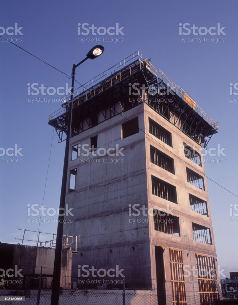 Concrete Construction Skeleton of New Building royalty-free stock photo