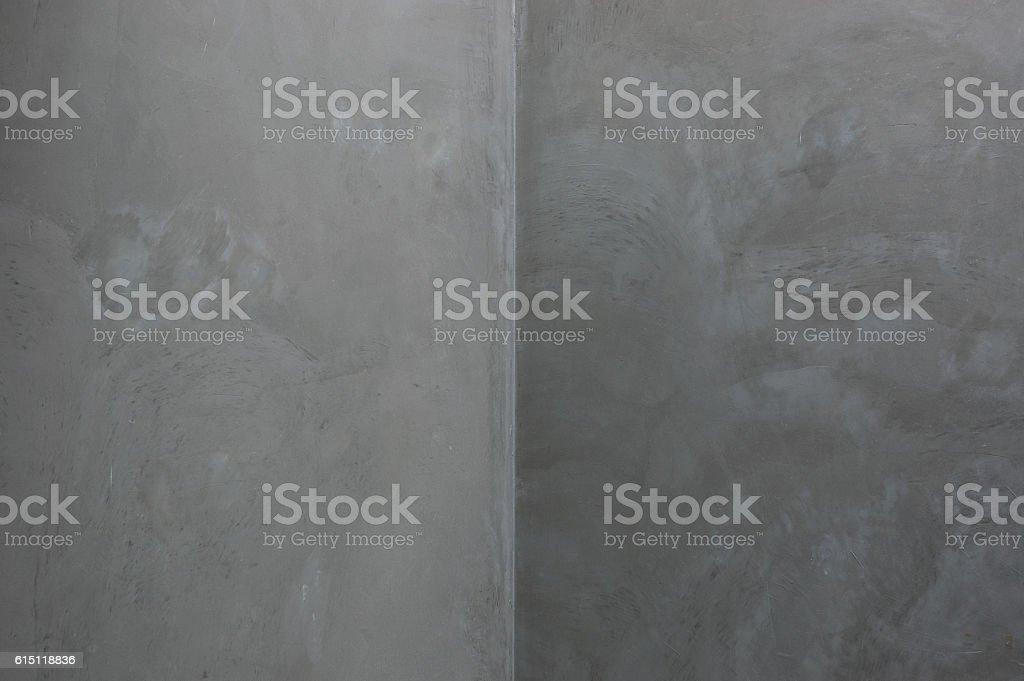 Concrete Corner Grey walls Abstract background geometric shadow stock photo