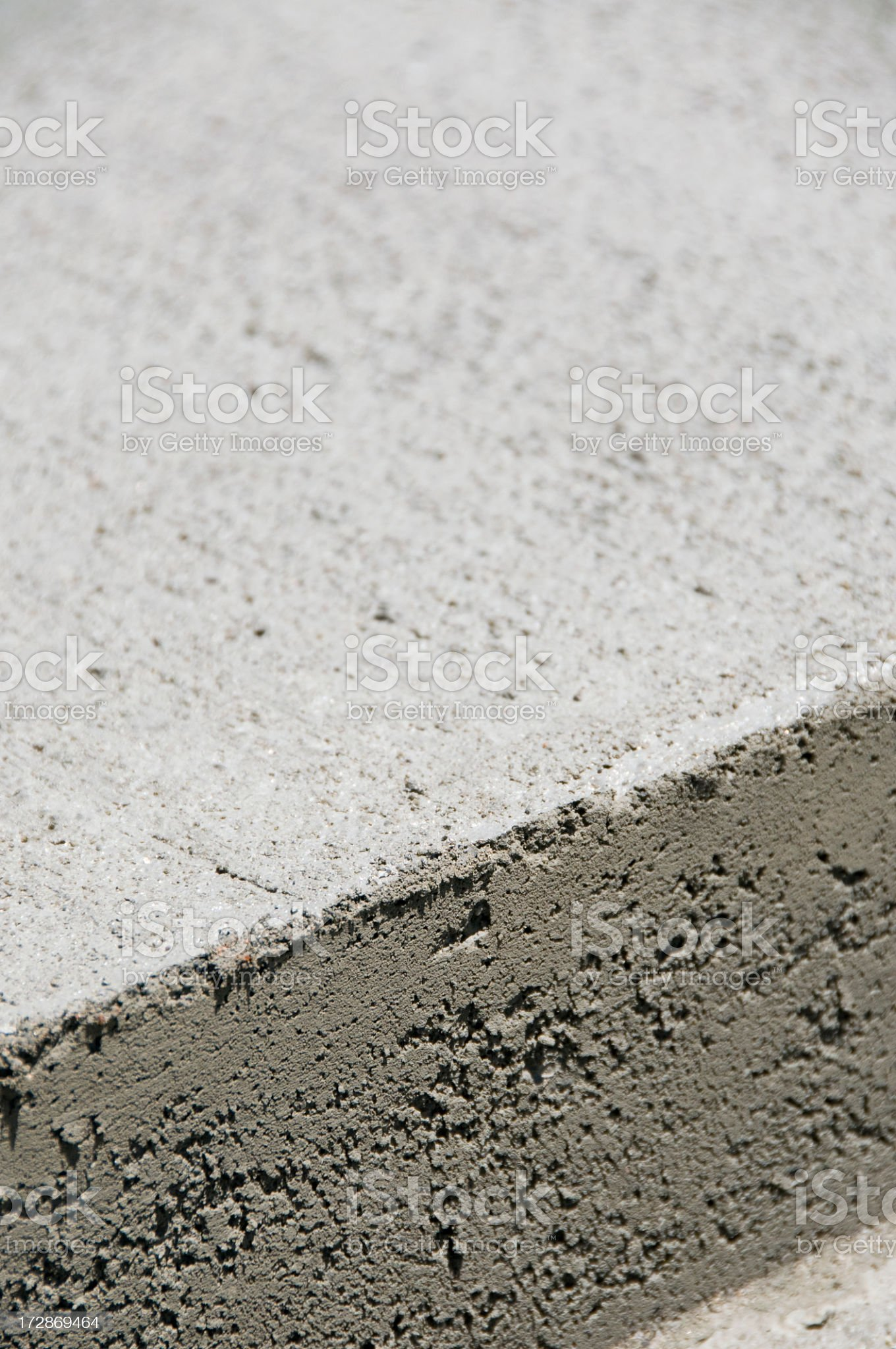Concrete Corner royalty-free stock photo