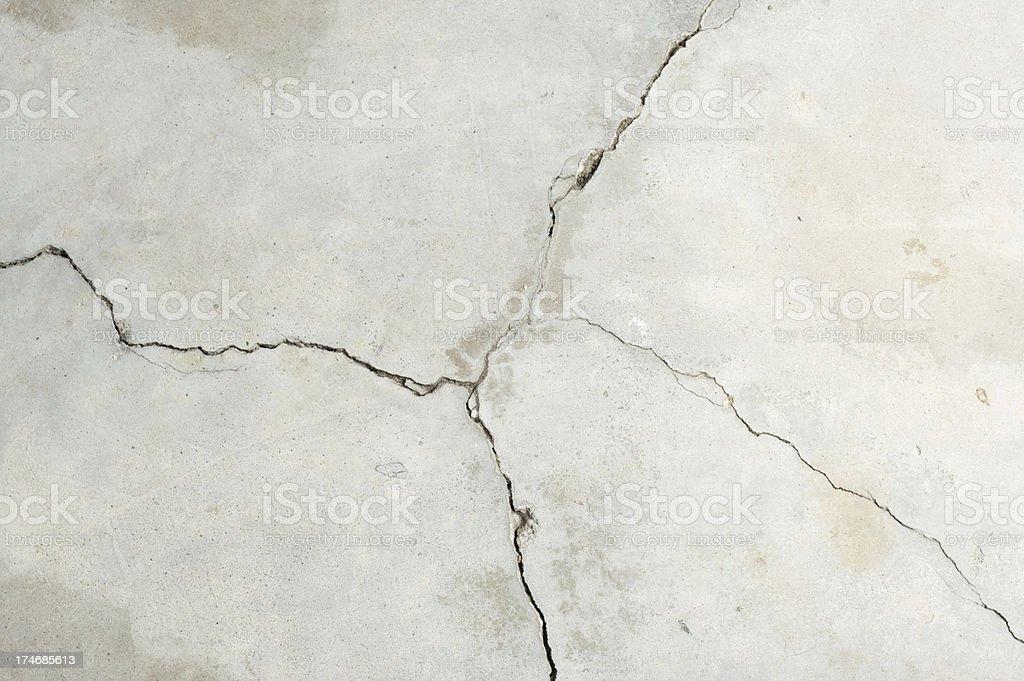 concrete cracks royalty-free stock photo