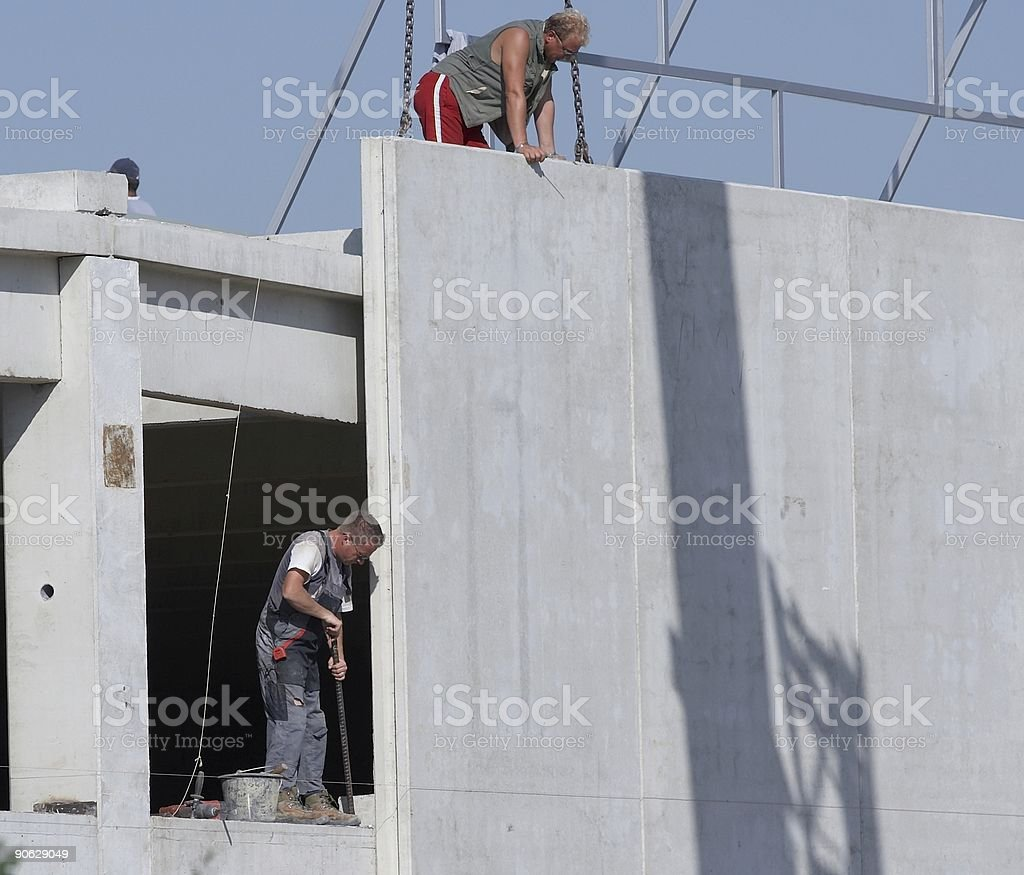 Concrete elements royalty-free stock photo