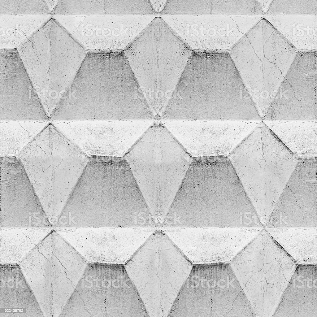 Concrete geometric  seamless pattern stock photo