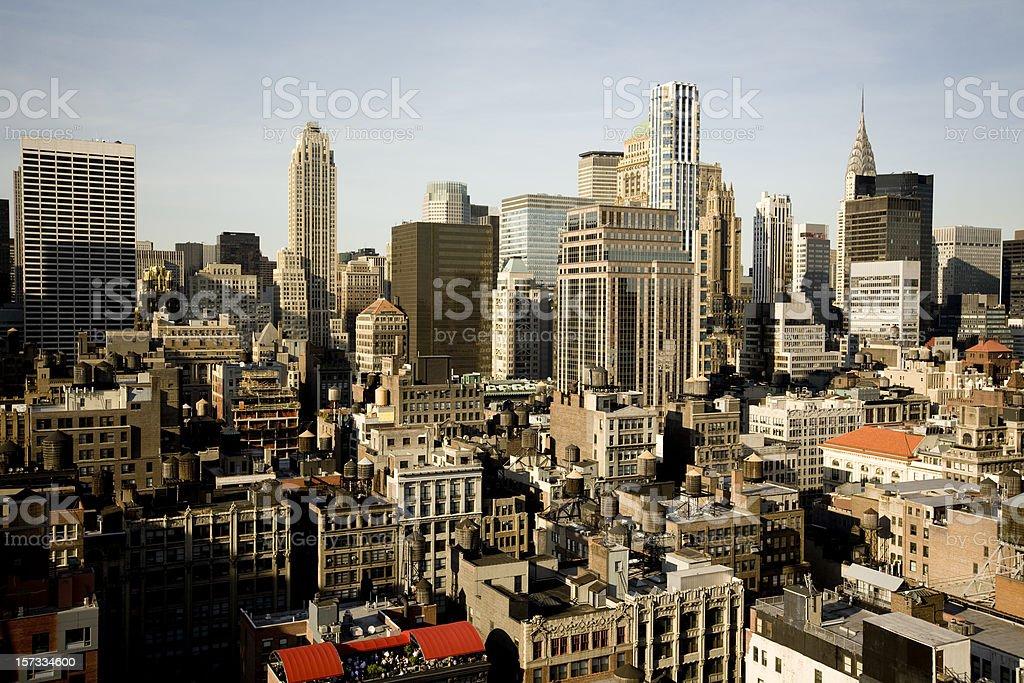 Concrete Jungle New York City stock photo