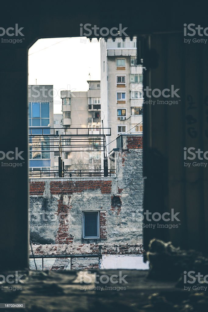 Concrete jungle. royalty-free stock photo