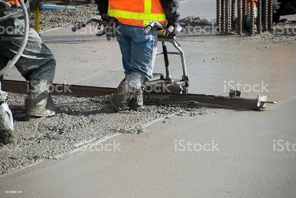Concrete level stock photo