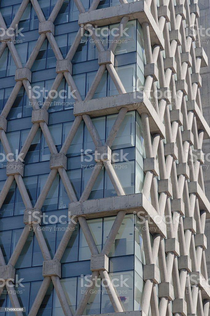 Concrete net royalty-free stock photo