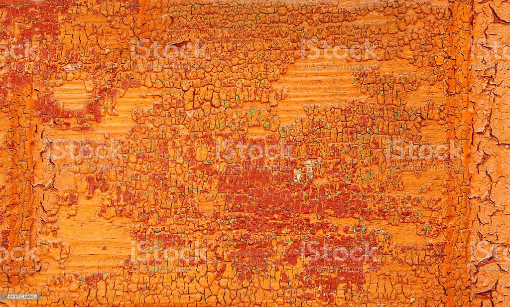 Concrete orange wall stock photo