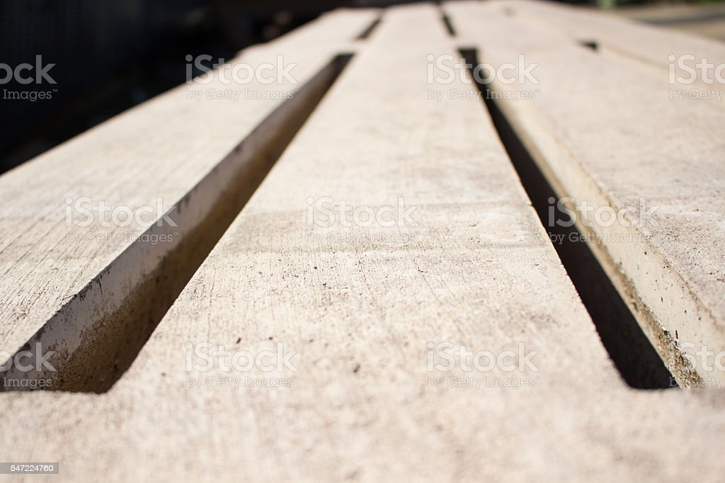 Concrete panel stock photo