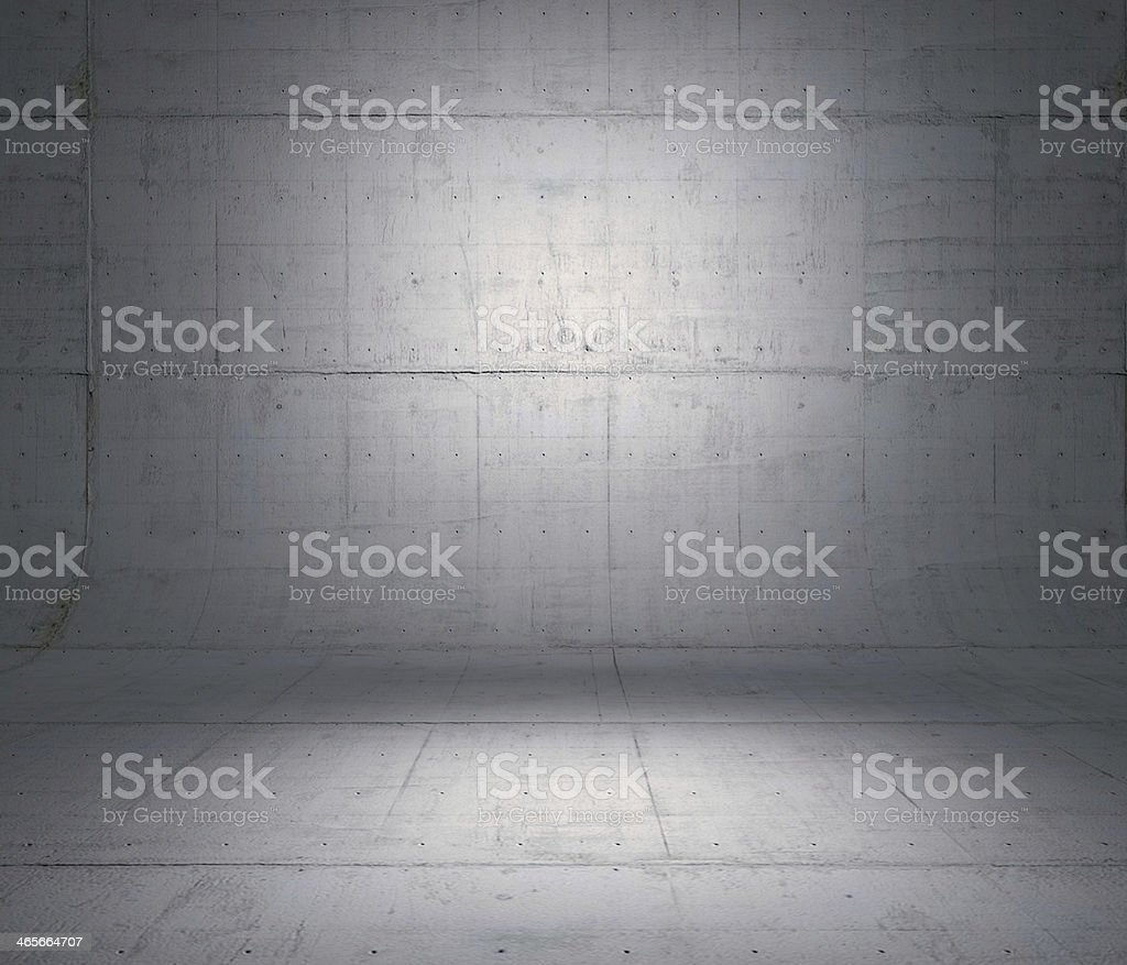 Concrete panels used as background. stock photo