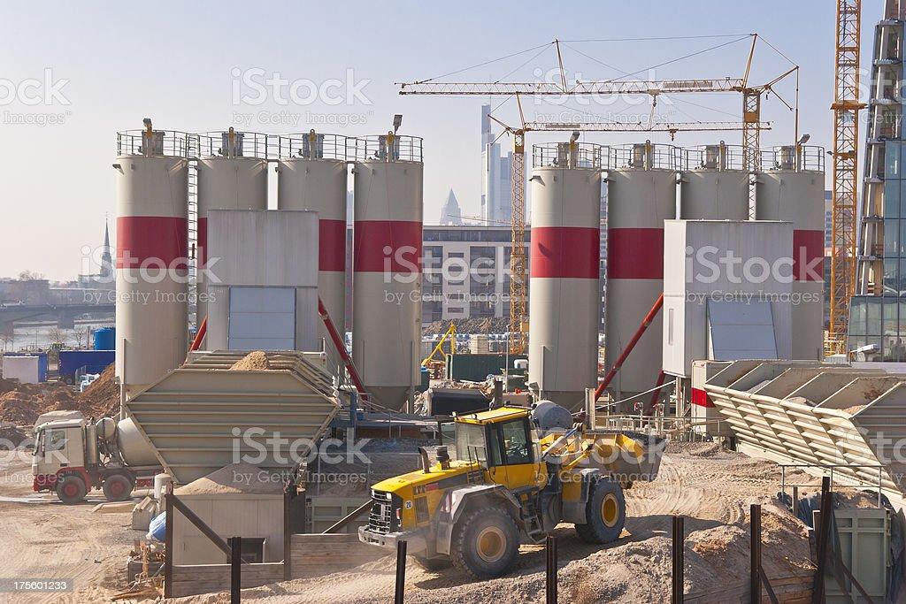 Concrete Plant stock photo