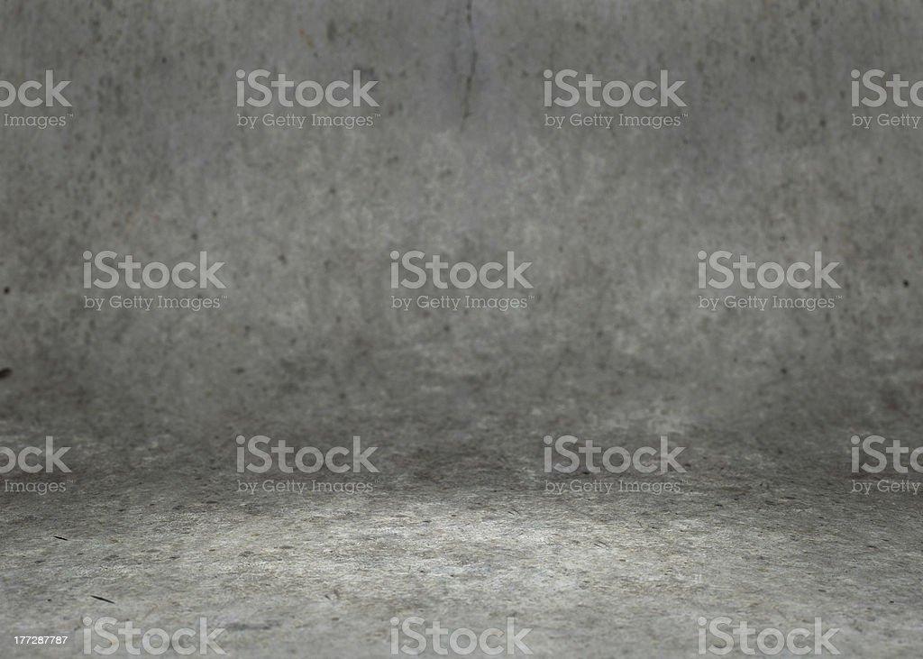 Concrete Room royalty-free stock photo