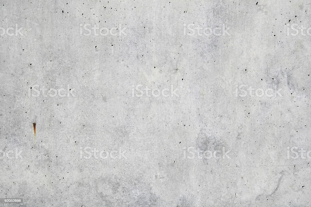 Concrete rough wall royalty-free stock photo