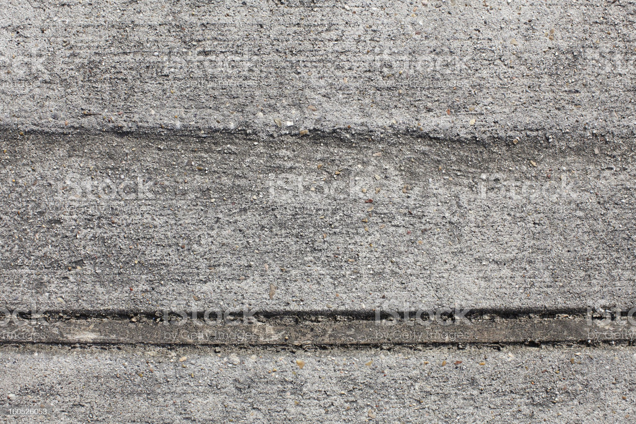 Concrete Separator and Texture royalty-free stock photo
