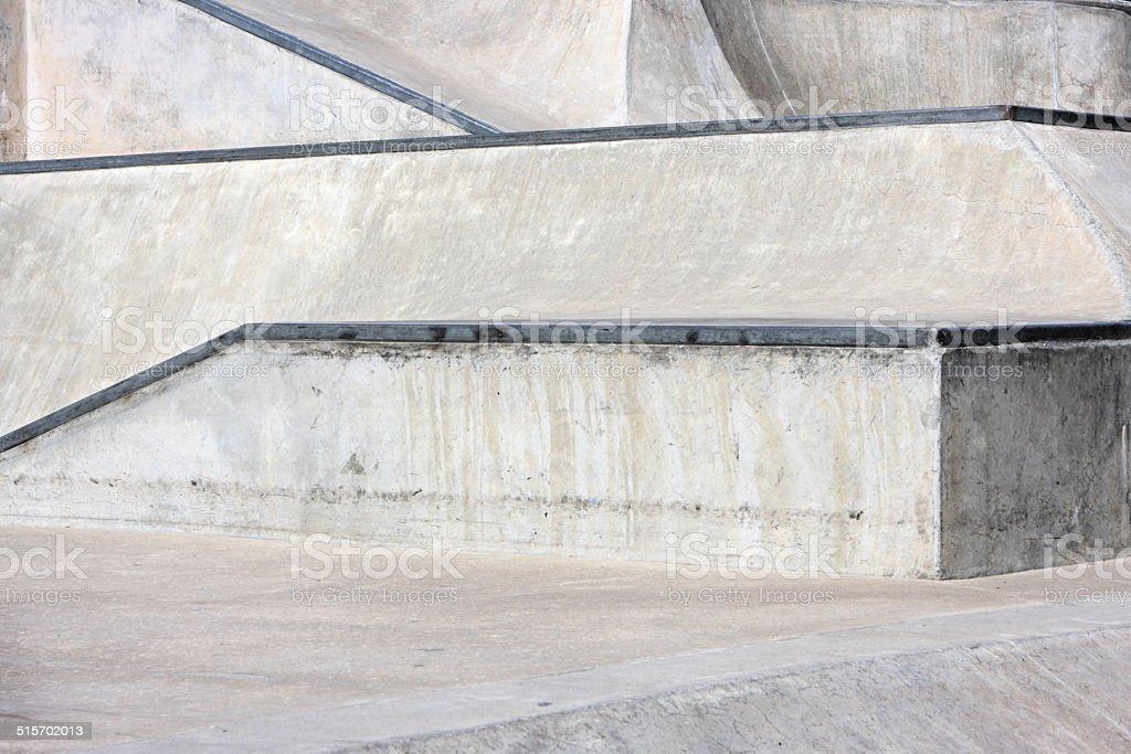 Concrete Skateboard Park BMX Bike Venue stock photo