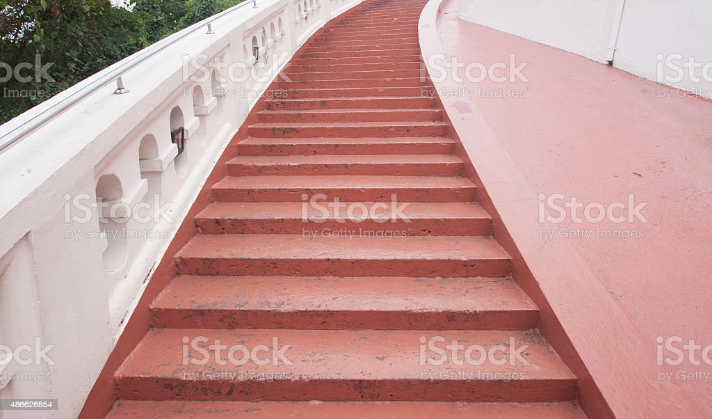 Concrete Stair stock photo