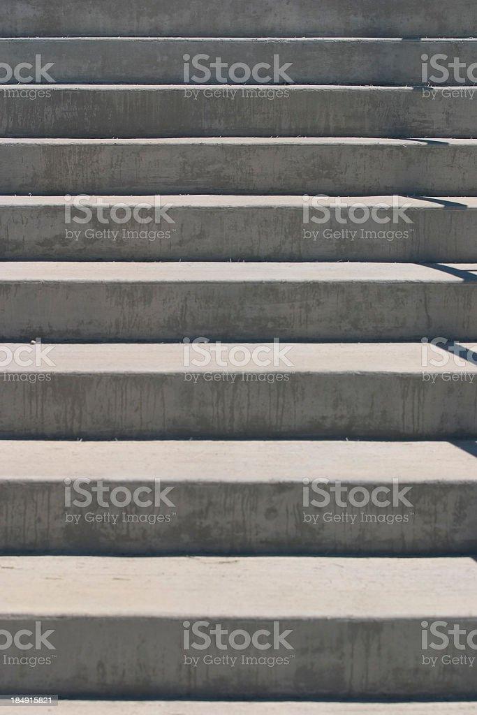 Concrete Steps royalty-free stock photo