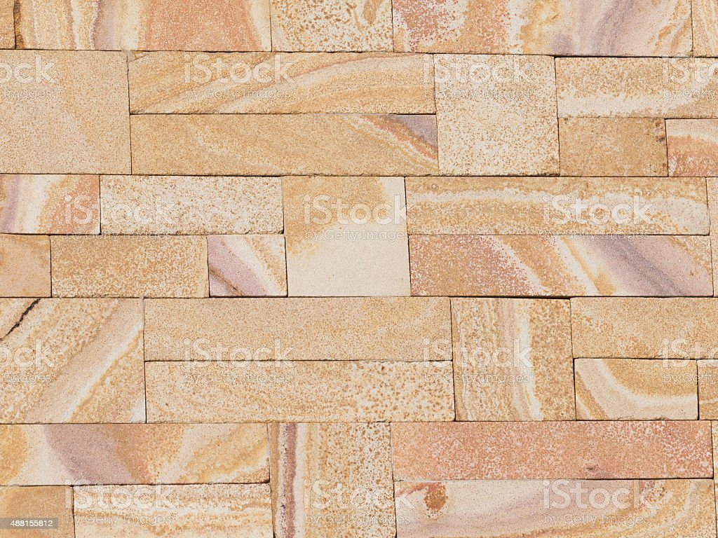 concrete stone similar to mottled sandstone stock photo