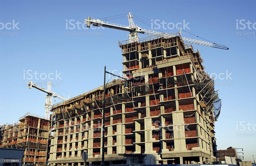 Concrete Substructure stock photo