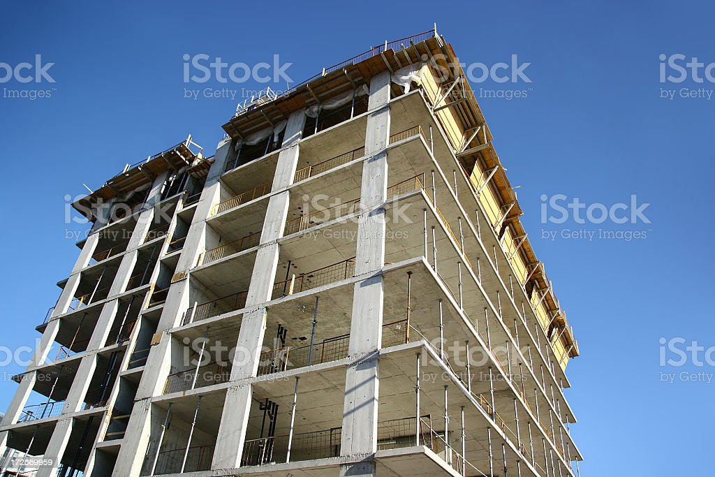 Concrete Substructure royalty-free stock photo