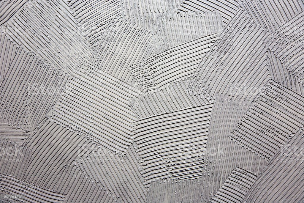 Concrete surface with striped relief stock photo