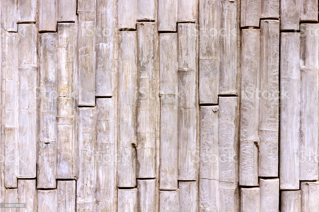 concrete texture bamboo style stock photo
